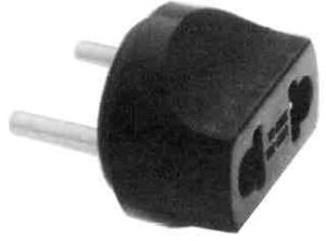 Ako kupjete Chromecast iz Amerike - US>EURO adapter za utičnicu (12 kn, Chipoteka)
