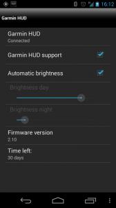 Popratna aplikacija zna sam provjeriti postoji li noviji firmware za HUD uređaj te ga skinuti i prebaciti na uređaj