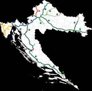 1.200 km autocesta, 4 koncesionara, 3 ENC sustava - Hrvatska! Hrvatska! Hrvatska!