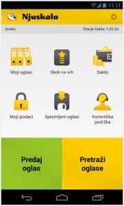 Njuškalo Android aplikacija
