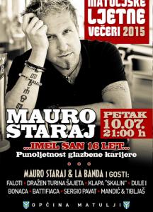 Večeras u 21h možete gledati i služati Maura i La Bandu putem live streaminga s koncerta u Matuljima